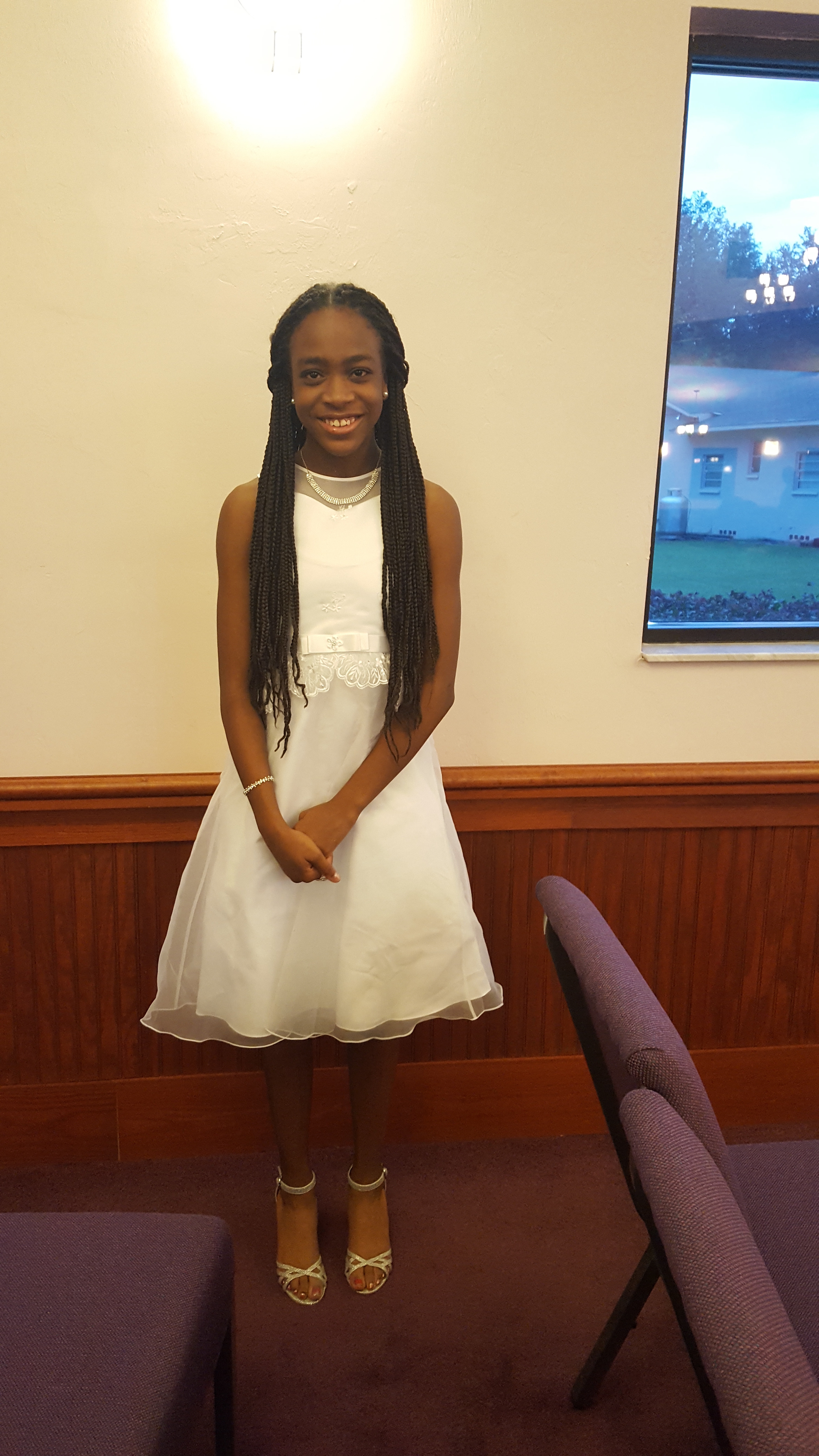 Gainesville District Debutante Ball Winner_Miss Jacaria Walton